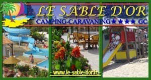 Camping Le Sable d'Or ****