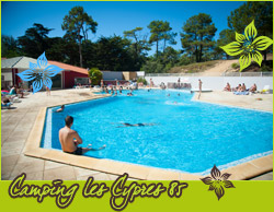 Camping Les Cypres piscine chauffée